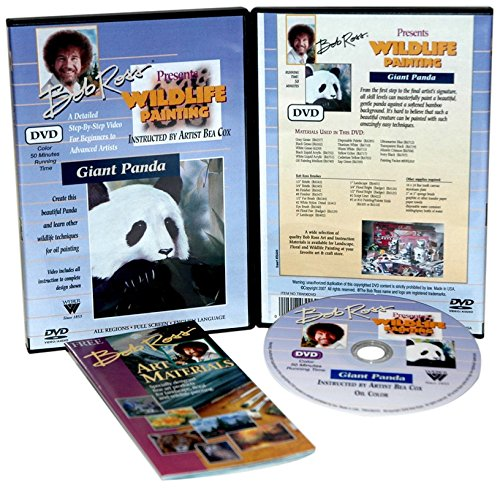 Martin - F. Weber TBW06DVD Ross Dvd Wildlife Painting Giant Panda 50 Minute by Weber