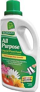 Schultz All Purpose 10-15-10 Liquid Plant Food, 32-Ounce