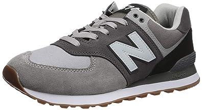 new balance uomo grigio