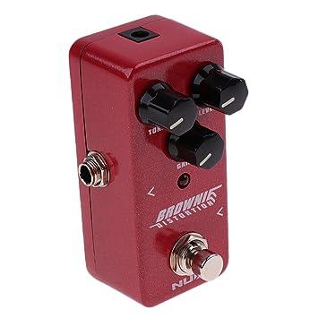 Baoblaze Pedal de Guitarra Efecto Eléctrico Tiempo Coro NDS-2 Phaser ...