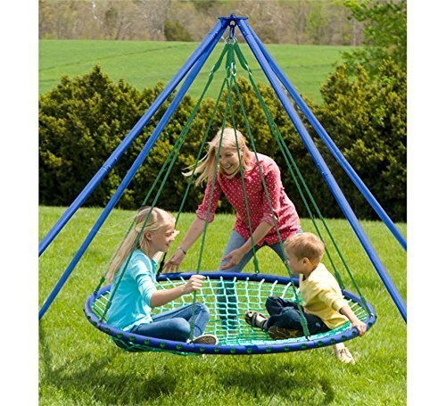 Sky Island Hanging, Spinning Platform with Stand and Teepee Accessories