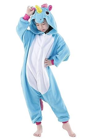 Nachtwäsche & Nachthemden Mutter & Kinder Flanell Mit Kapuze Tier Pyjamas Winter Kinder Jungen Mädchen Nachtwäsche Cartoon Cosplay Onesies Kinder Pijamas Für 4 6 8 10 Jahre Angenehme SüßE