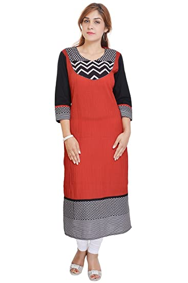 87433d6047e Vihaan Impex Indian Kurtis for Women Kurti Kurtas for Women Bust Size 38  Inches Multicolor Kurti