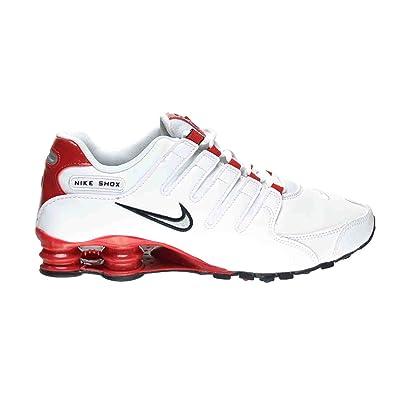 latest design beauty cheapest Amazon.com | NIKE Shox NZ Men's Shoes White/Metallic Silver ...