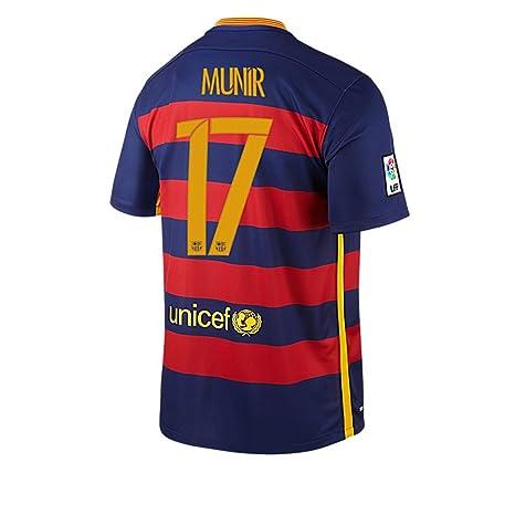Maglia Home FC Barcelona Munir