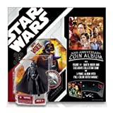 Star Wars 30th Anniversary Basic Figure Darth Vader with coin album by Tommy direct