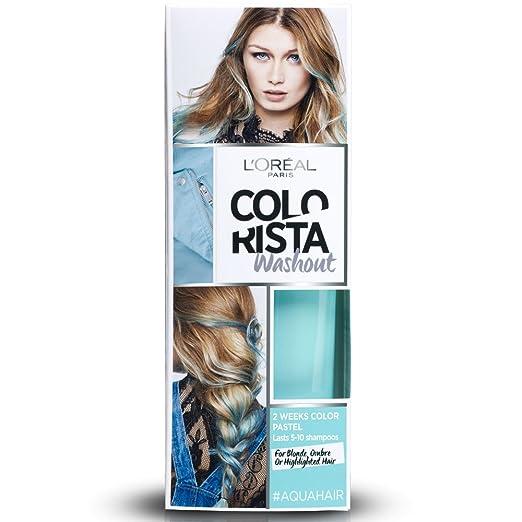 93 opinioni per L'Oréal Paris Colorista Washout Pastel Colorazione Temporanea 2 Settimane, Acqua