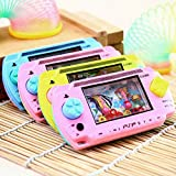 CosCosX 2 Pcs PSP Style Cartoon Funny Water Handheld Game Console Ring Toss Puzzle Machine Toy Gift Colorful Arcade Video for Kids Children Early Education (Color Randomly)