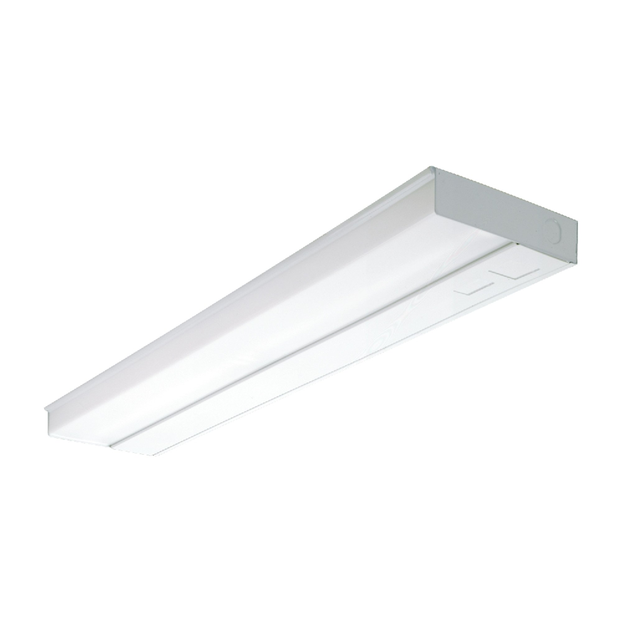 Metalux UC48T8132 UC Series Fluorescent Undercabinet Light Fixture, 48'', 1 Lamp, T8, 32W, 120V, Electronic Ballast Lamp Included