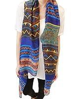 Hot Fashion Women Ladies Bohemian Voile Soft Silk Scarf Large Shawl Scarfs Scarves
