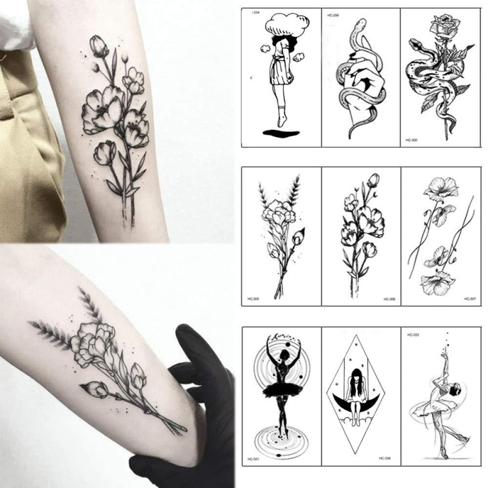 Etiqueta engomada del tatuaje, Diseños de tatuaje para hombres ...