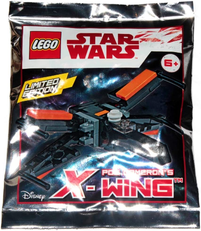 LEGO Star Wars Episode 7 - Limited Edition - Poe Dameron's X-Wing - foil Pack