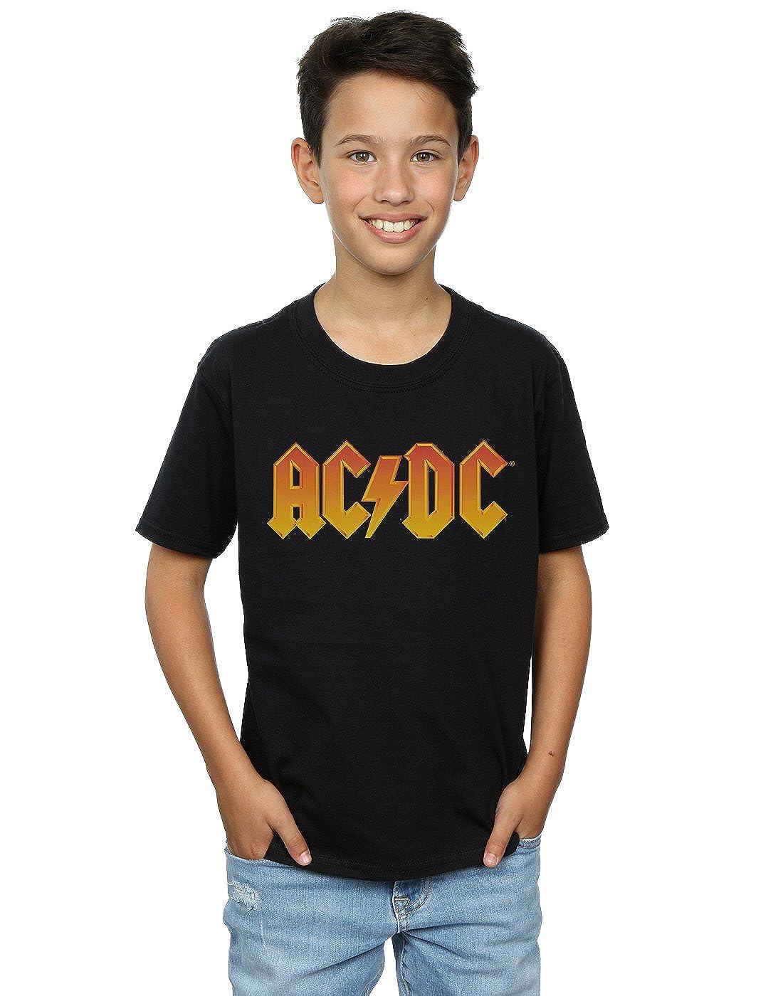 4f3cdbcbc AC DC niños Fire Logo Camiseta  Amazon.es  Ropa y accesorios