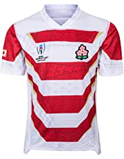 LANREN Rugby Jersey, V-neck Short Sleeve, 2019 World Cup, Japanese Team T-shirt, Japan Rugby World Cup, Breathable Perspiration
