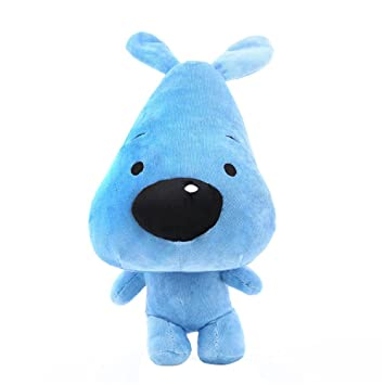 e074e856ea2a Image Unavailable. Remeehi Cute Plush Puppy Toys, Children's Huge Soft  Confused Dog Doll, 20 inches Blue
