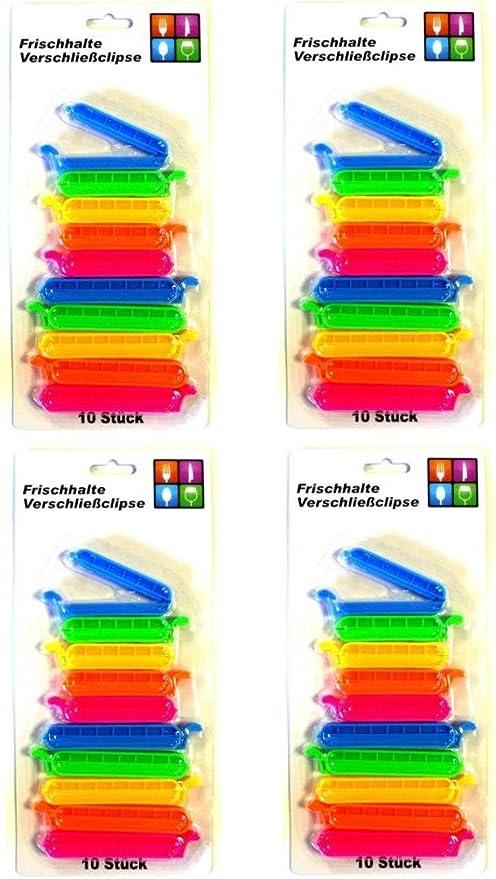 IKEA BEVARA 10 30 Stück Verschluss Clips Beutel Gefrierbeutel Frischhalteclips