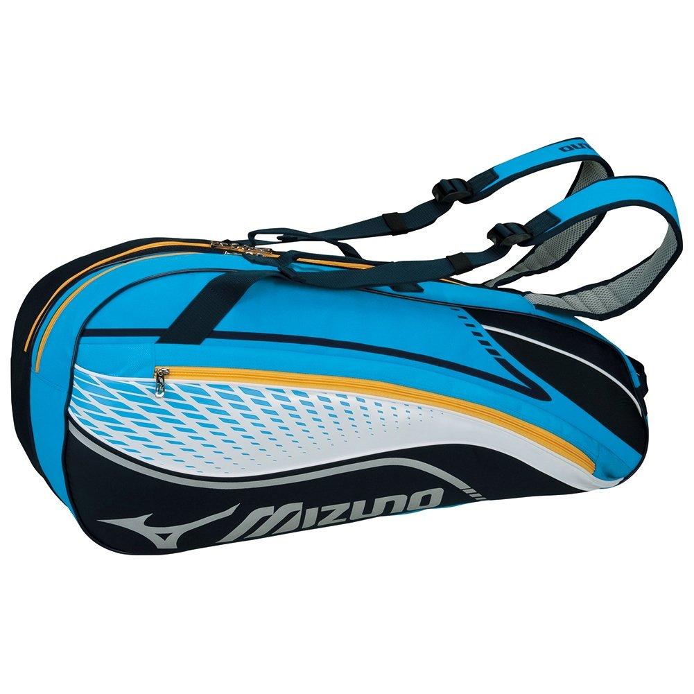 MIZUNO(ミズノ) テニスバッグ ラケットバッグ 6本入れ 63JD6003 B01BDI0QHO ターコイズ ターコイズ