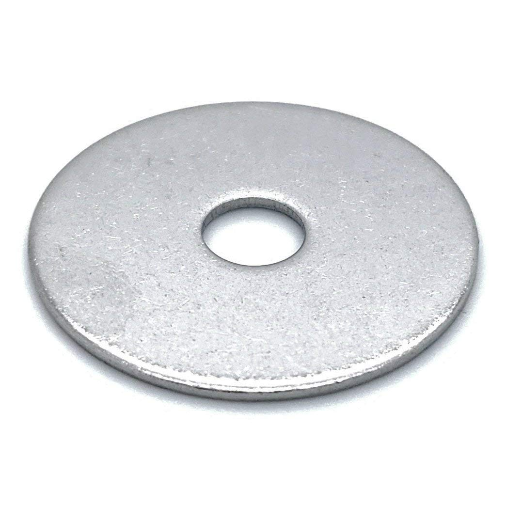 500 Qty 1/4'' x 1'' 304 Stainless Steel Fender Washers (BCP813)