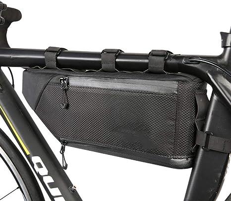 HLOEC Bolsa de Bicicleta Bolsa para Bicicleta Marco para Bicicleta ...