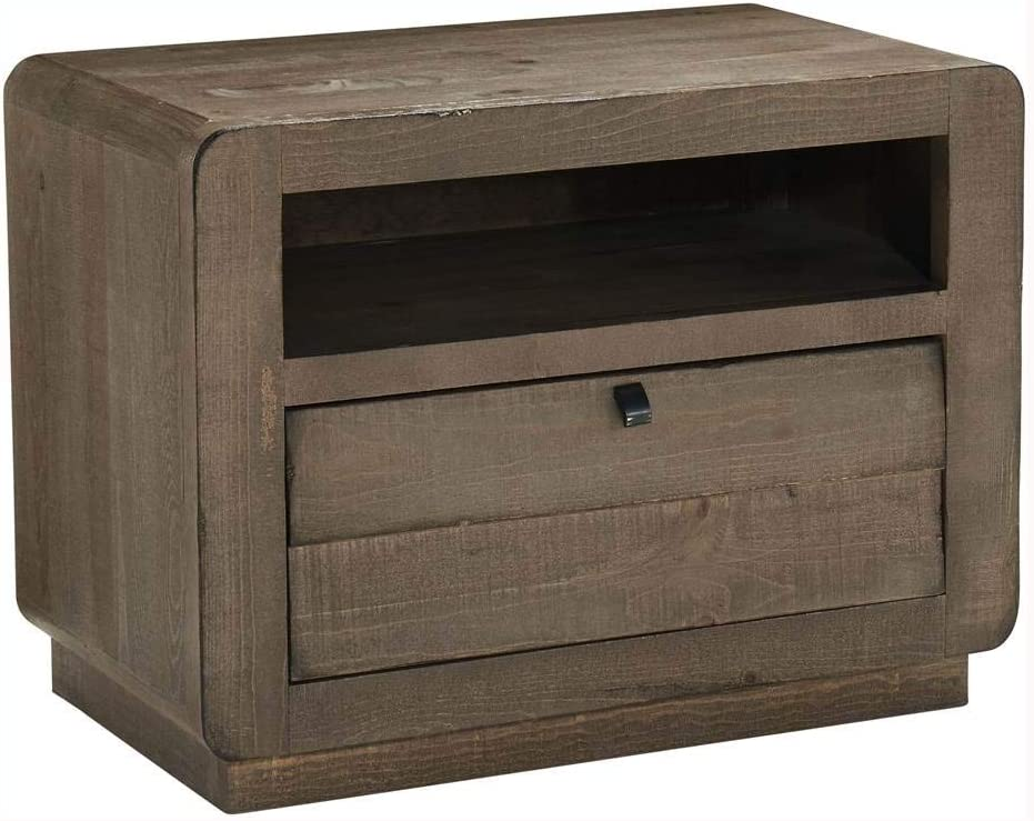 Progressive Furniture Bliss Nightstand, Mocha