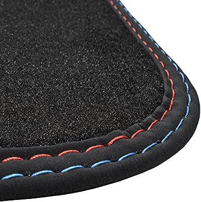 Para bmw x1 f48 a partir de 2015 alfombrilla alfombra alfombrilla de maletero terciopelo negro