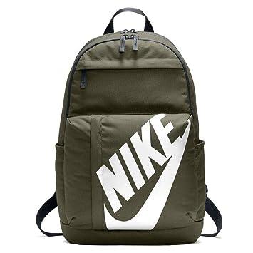 Nike Nk Elmntl Bkpk Mochila, Unisex adultos, Multicolor (Olive Canvas/Black/W): Amazon.es: Deportes y aire libre
