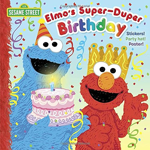 Super Duper Birthday Sesame Street Pictureback product image
