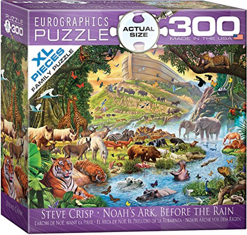 Book Ark Jigsaw Noahs - EuroGraphics Noah's Ark Before The Rain by Steve Crisp 300-Piece Puzzle (Small Box)