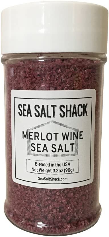 Sea Salt Shack | Merlot Wine Sea Salt