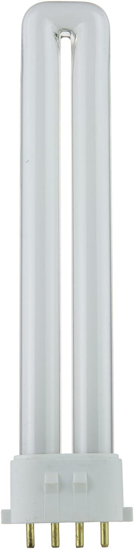 Sunlite PL13/E/SP41K 13-Watt Compact Fluorescent Plug-In 4-Pin Light Bulb, 4100K Color, 4100K - Cool White, 1 Pack