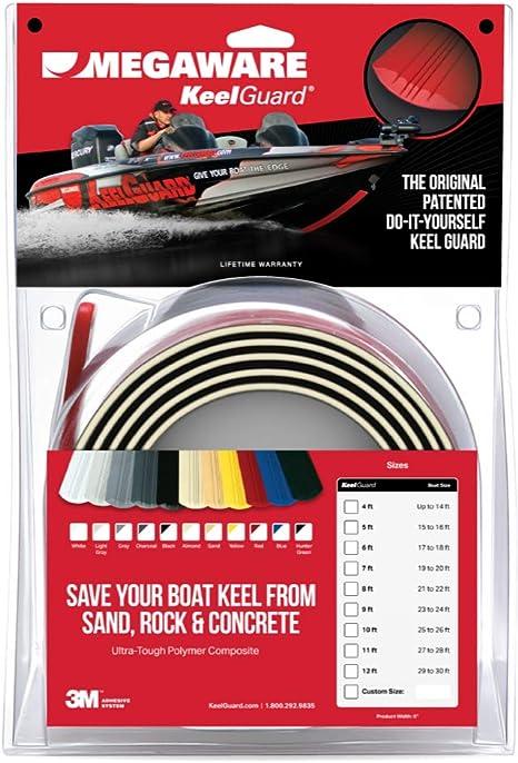Megaware Keelguard Boat Keel Protector Sports Outdoors Amazon Com