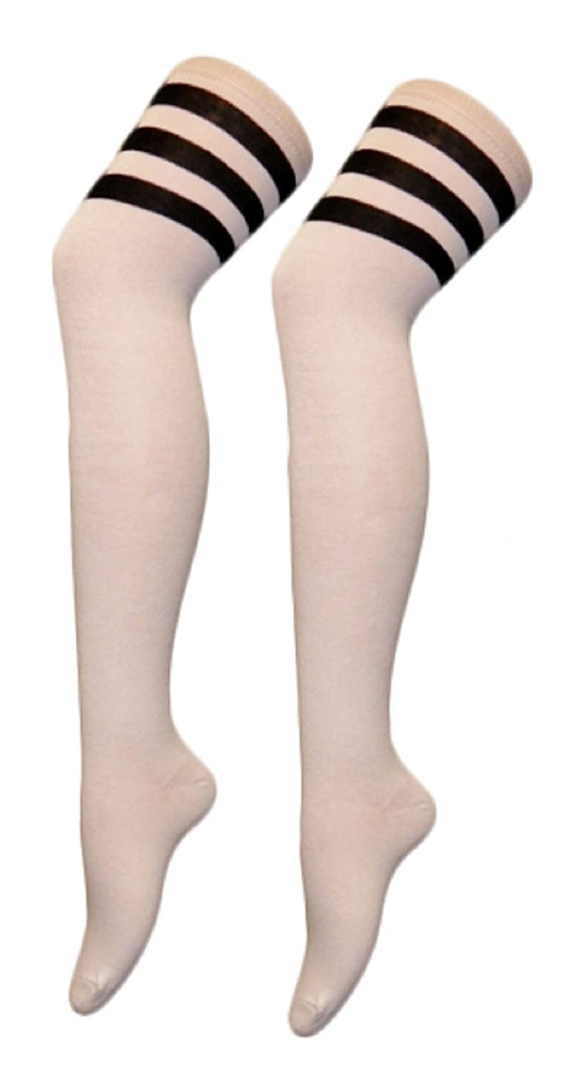 Momo/&Ayat Fashions Unisexe Mens Ladies Girls Boys Over Knee Referee Chaussettes Sport ou Fancy Dress Rugby Football