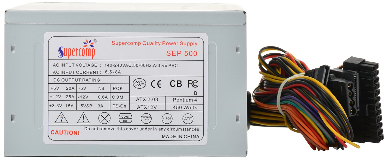 Amazon.in: Buy Supercomp SMPS (Silver) Online at Low Prices in India ...