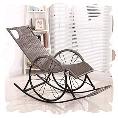 Q.AWOU Mecedora Garden Relax Furniture All Weather Lounge ...