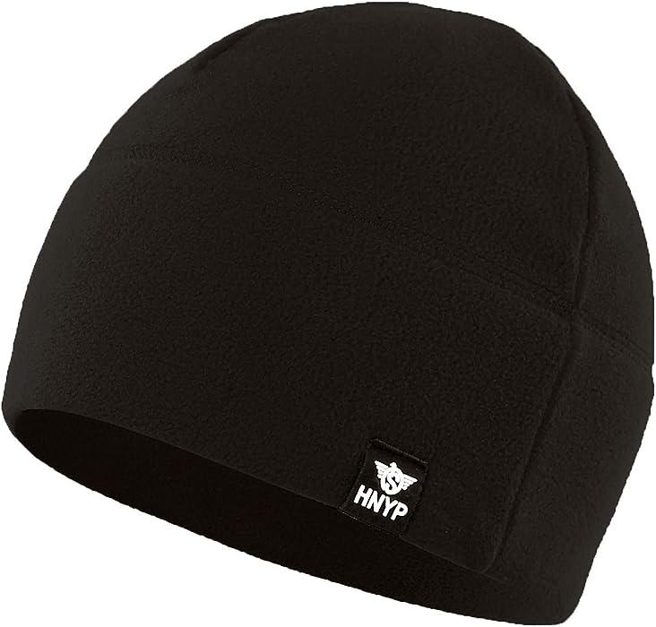 1eecea439f0 Home Prefer Winter Outdoor Skull Cap Simple Solid Daily Watch Hat Fleece Beanie  Cap for Men