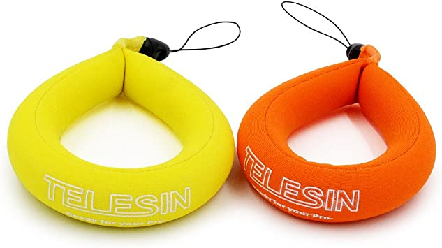 telesin flotante correa 2-Pack para bajo el agua GoPro y cámaras ...