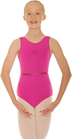 Roche Valley Short Sleeved Pink Ballet Leotard