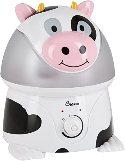 Crane Adorable Cool Mist Humidifier Curtis the Cow: Amazon