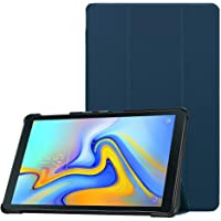 ABOUTTHEFIT ATF Ultra Thin Lightweight Stand Cover with Auto Sleep/Wake Slim Case for Samsung Galaxy Tab A 10.5 2018 Model SM-T590/T595/T597 (Navy)