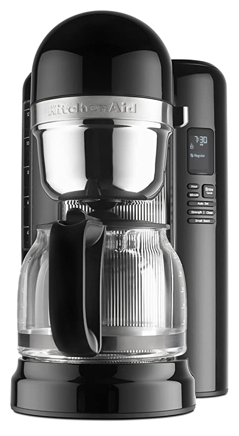 Amazon Com Kitchenaid Kcm1204ob 12 Cup Coffee Maker With One Touch