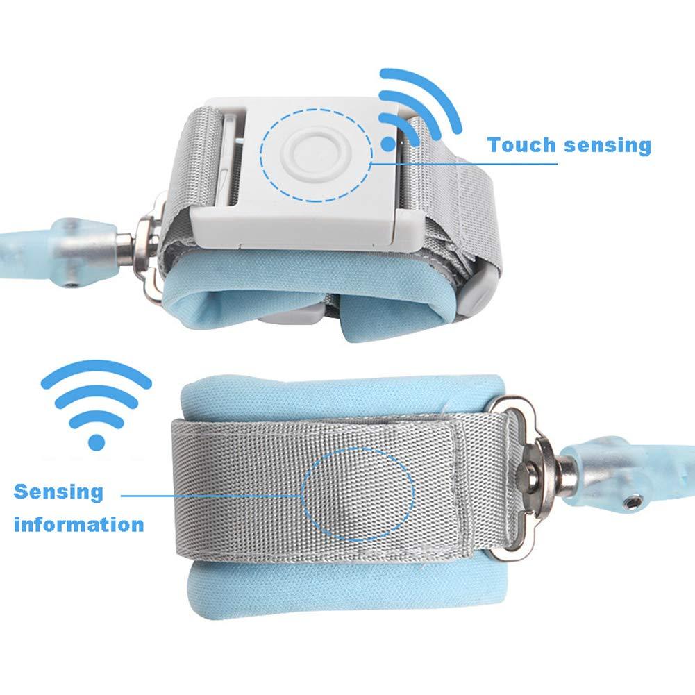 1,5 ~ 2,5 m Kinder Anti-Verlust-Armband Sicherheit Schutz Induktion Lock Traction Seil Kind Anti-Verlust Hand Ring Eingebauter verdickter Stahldraht 360/° drehbarer Kopf