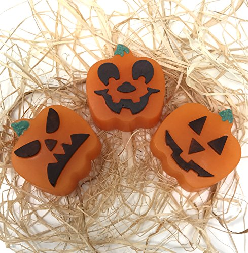 Pumpkin Pie Halloween Glycerin Soap 1 Bar Handmade All Natural Pure