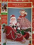 img - for Santa & Friends Air Fresheners (Fibre-Craft, FCM473) book / textbook / text book