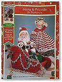 Santa & Friends Air Fresheners (Fibre-Craft, FCM473)