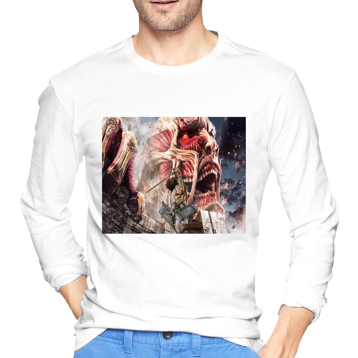 Lihehen S Attack On Titan Round Neck Ts Shirts