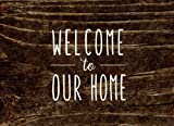 Welcome to Our Home: AirBnB Guest Book (Guest Book for Vacation Rentals & AirBnB)