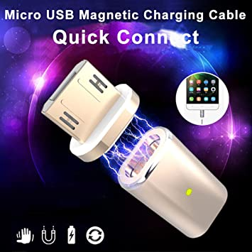 Ángeles -- Micro USB Cable de carga rápida 2.4 A Adaptador ...