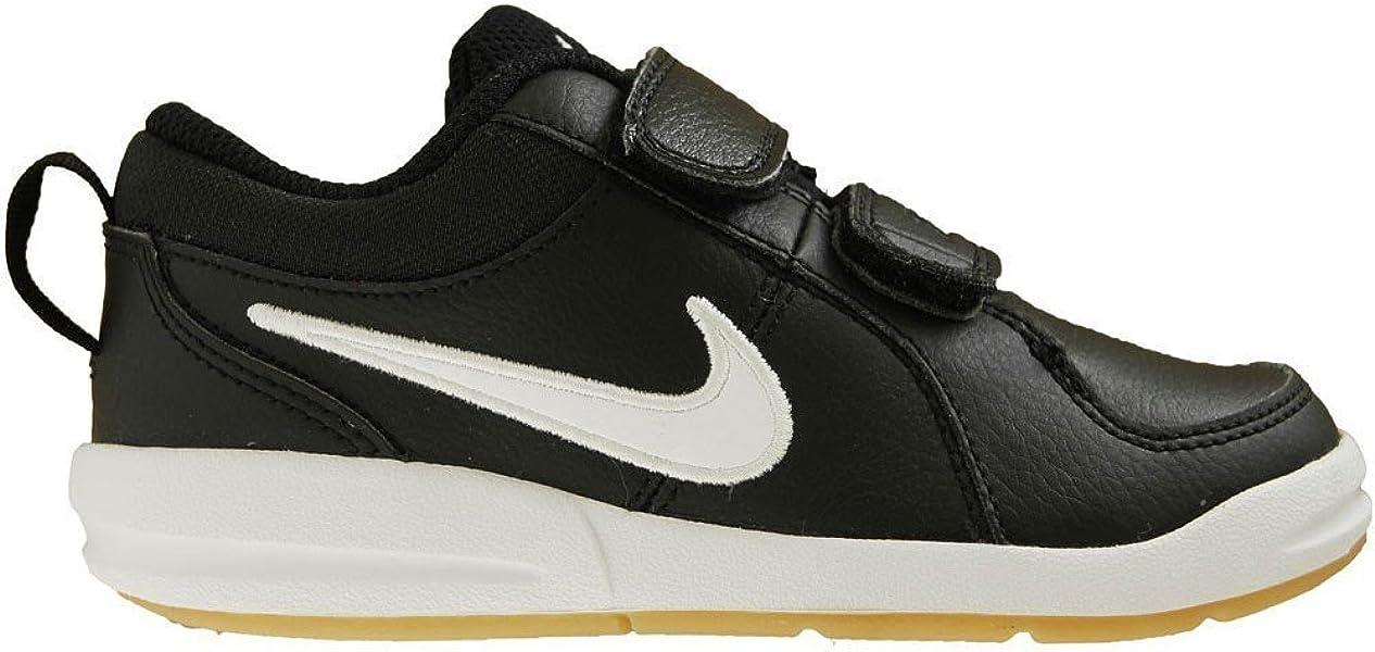 Nike Pico 4 (PSV), Zapatillas de Tenis para Niños, Negro (Black/White-Gum Light Brown 023), 28.5 EU