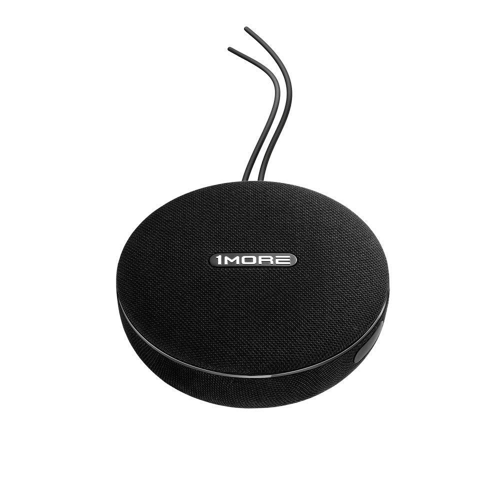 AUX 3.5 1MORE Bluetooth Lautsprecher Tragbarer kabelloser und kabelgebundener Lautsprecher 12 Stunden Laufzeit. bis zu 35W Stereo Sound Bluetooth 4.2 IPX4 wasserdicht