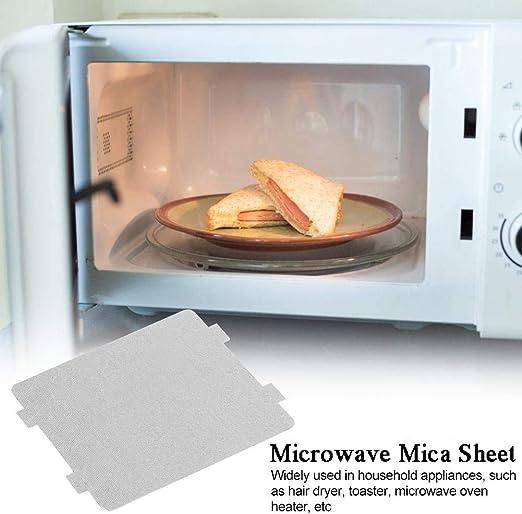 Micro-ondes Housse Feuille Mica Bouclier Chaleur guide d/'ondes 0,40 x 140 mm x226mm